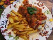 Schweinefilet-Schaschlik mit Paprika-Zwiebel-Mix und selbstgemachter Schaschlik-Sauce - Rezept - Bild Nr. 2