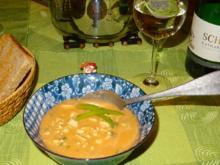 Hähnchensuppe mit Mandelmus - Rezept - Bild Nr. 2