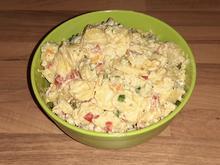 einfacher Kartoffelsalat mit Gemüse - Rezept - Bild Nr. 2