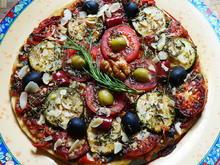Vegane Hirtenpizza  -- Sommer - Rezept - Bild Nr. 2