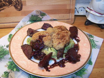 Rip-Eye-  Steak mit Kruste und feinen Beilagen - Rezept - Bild Nr. 2