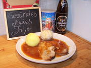 "Bier-Braten ,,König Ludwig "" mit zweierlei Knödel - Rezept - Bild Nr. 12409"