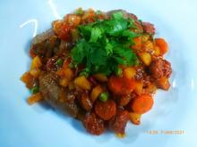 Eintopf mit Lamm, Gemüse und Chorizo - Rezept - Bild Nr. 2