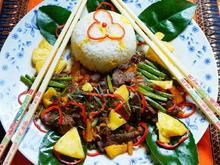 Rindfleisch mit grünen Bohnen in Shrimpsauce - Rezept - Bild Nr. 2