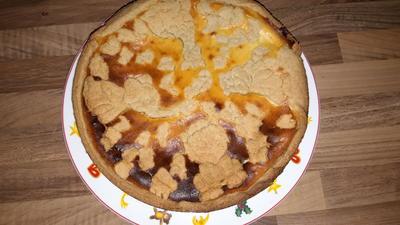 Bratapfelkäsekuchen - Rezept - Bild Nr. 3