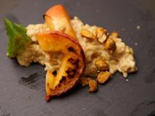 Im Beefer karamellisierter Apfel mit Erdnussbutter-Milchreis und Crunch - Rezept - Bild Nr. 2