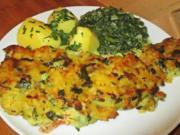Lachs mit knuspriger Kartoffel-Kräuterhaube - Rezept - Bild Nr. 2