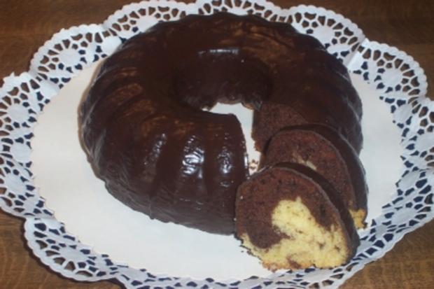 Marmorkuchen mit Amaretto - Rezept