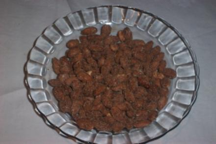 Gebrannte Mandeln, schnell zubereitet - Rezept