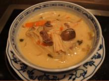 Würzige asiatische Suppe mit Krupuk - Rezept - Bild Nr. 2