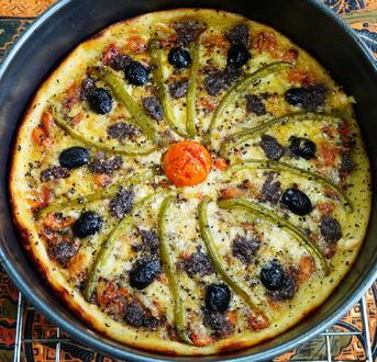 Kartoffelpizza Apulien - Rezept - Bild Nr. 2