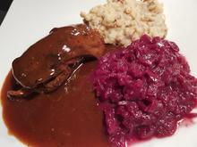 Reh-Rouladen mit Maronen-Kartoffelstampf - Rezept - Bild Nr. 13102