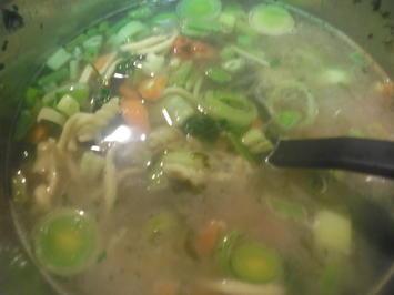 Nudeleintopf mit feinen grünen Bohnen - Rezept - Bild Nr. 2