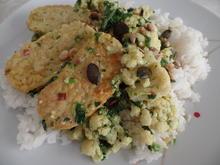 Blumenkohl-Spinat -Curry mit Tempeh - Rezept - Bild Nr. 13102