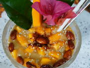Papaya-Bananen-Mousse - Rezept - Bild Nr. 2