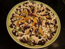 Rote Bete Salat mit Orangenspalten - Rezept - Bild Nr. 2