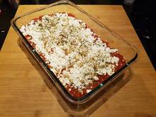 Couscous-Gemüseauflauf mit Tomtaten-Sauce - Rezept - Bild Nr. 2