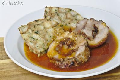Schweinebauchrolle gefüllt mit Speck/Zwiebeln - Rezept - Bild Nr. 17