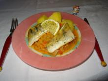 Knusprig gebratener Zander auf Paprikakraut - Rezept - Bild Nr. 2