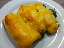 Auflauf von Kartoffeln, Spinat und Fischfilet mit Limetten - Hollandaise - Rezept - Bild Nr. 2
