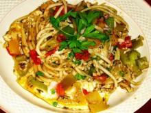 Bunte Spaghetti-Pfanne - Rezept - Bild Nr. 2