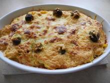 Rosenkohl-Kartoffel-Auflauf mit Hackfleisch und Reibekäse - Rezept - Bild Nr. 2