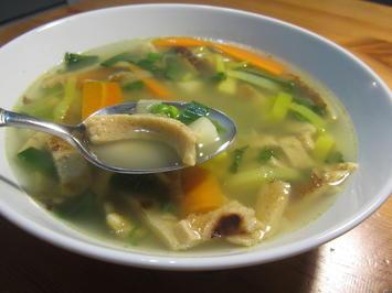 Pfannkuchensuppe - Rezept - Bild Nr. 2