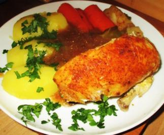 Curry-Hühnchen aus dem Ofen - Rezept - Bild Nr. 2