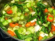 Gemüsebrühe für allerlei Gerichte - Rezept - Bild Nr. 2