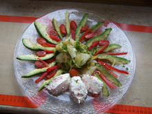 Gemüse Teller (Rest von Gestern) - Rezept - Bild Nr. 2