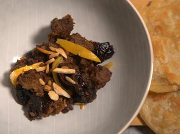 Marokkanische Tajine mit Msemen und Minz-Salat - Rezept - Bild Nr. 2