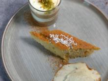 Türkisches Orangen-Minz-Eis, Revani und Aish El Saraya - Rezept - Bild Nr. 2