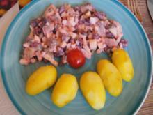 Matjes-Salat mit Baby-Pellkartoffeln - Rezept - Bild Nr. 2