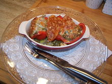 Rote Paprikaschoten mal anders gefüllt - Rezept - Bild Nr. 2