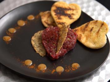Tatar Tonnato mit Parmesantalern - Rezept - Bild Nr. 2