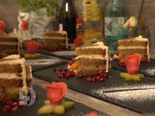 Bratapfeltorte mit Zimtcreme und einem extra Gruß vom Konditor - Rezept - Bild Nr. 2