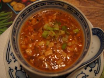 Sichuan scharf-saure Suppe - Rezept - Bild Nr. 2