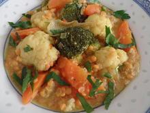 Gemüse-Linsen-Curry - Rezept - Bild Nr. 13506