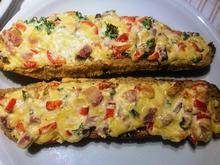 Baguettes überbacken (Briegelschmiere) - Rezept - Bild Nr. 2
