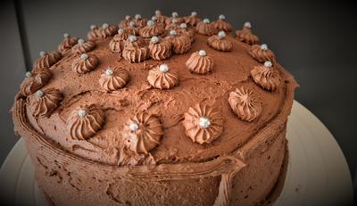 Schoko-Sahne-Torte 20cm Springform - Rezept - Bild Nr. 2