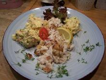 Stockfisch Essen mit Beilage - Rezept - Bild Nr. 13521