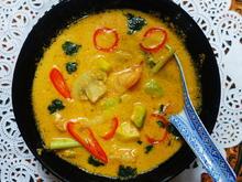 Balinesische Avocadosuppe mit Garnelen und Pilzen - Rezept - Bild Nr. 2
