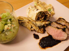 "Rosarote Ente ""Peking Style"" liebt Gurkensalat - Rezept - Bild Nr. 2"