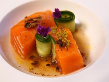 Neuseeländer Lachs trifft fränkische Gurke - Rezept - Bild Nr. 2