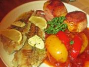 Seelachsfilet mit Paprika – Sugo - Rezept - Bild Nr. 2