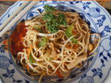 Chinesisch gebratene Nudeln wie beim Asiaten - Rezept - Bild Nr. 2
