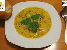 Schmelzkäse Suppe nach französische Art a La Aleks. - Rezept - Bild Nr. 13547
