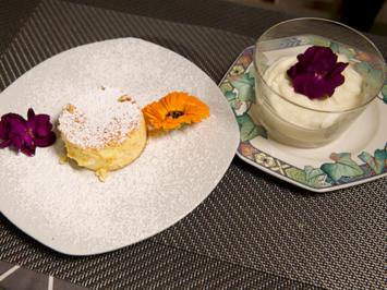 Kleiner weißer Schokotraum, dazu Omas Käsekuchen - Rezept - Bild Nr. 2