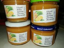 Pfirsich - Möhren - Apfelsinen - Zitronen -  Marmelade - Rezept - Bild Nr. 2