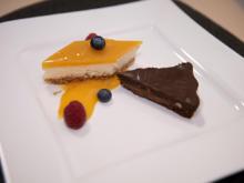 Der süße Abschluss : Frischkäse-Törtchen & Mini-Erdnuss-Schoko-Tarte - Rezept - Bild Nr. 2